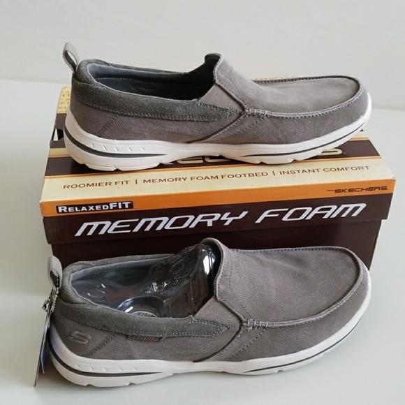 Deslizamiento De Espuma De Memoria Hombres Skechers En Los Zapatos zb9z9